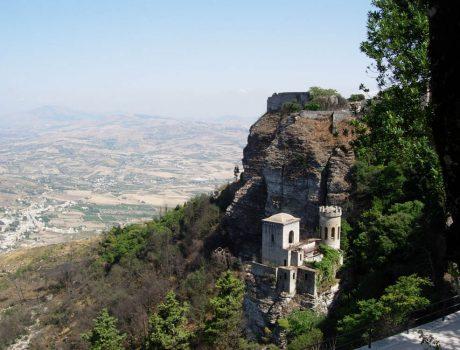 Sicile - Erice - Chateau