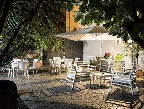 Voyage à Palerme - Le jardin d'un Boutique Hotel