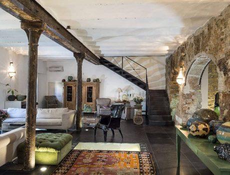 Voyage à Palerme - Salon d'un Boutique Hotel