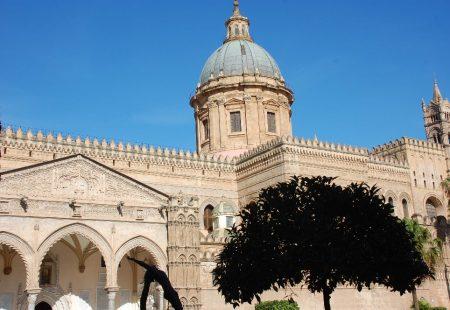 Vue de la Cathédrale de Palerme