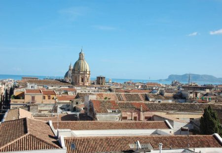 Vue de la ville de Palerme