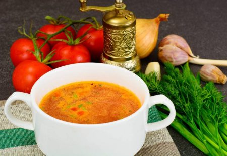 Séjour Oenogastronomique en Sicile - Soupe de tomates