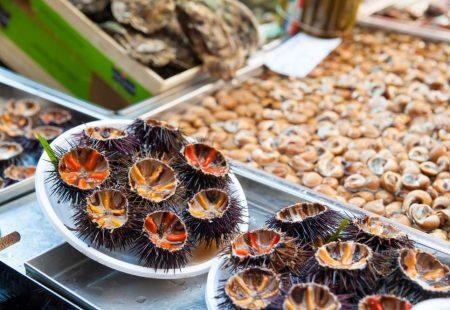 Séjour Oenogastronomique en Sicile - Oursins et fruits de mer