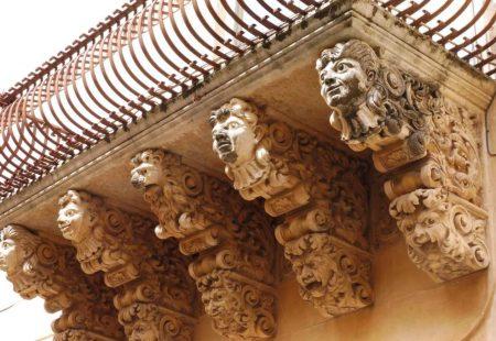 La Sicile Baroque - Balcon de la ville de Noto