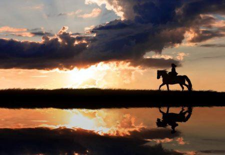 La-Sicile-à-Cheval-Promenade-au-coucher-de-soleil